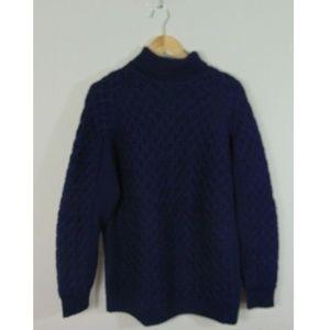 Vintage Saks Fifth Avenue Men Turtleneck Sweater